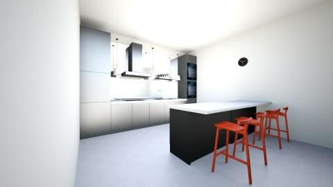 minimalist style - Minimal - Kitchen  - by RevanStark