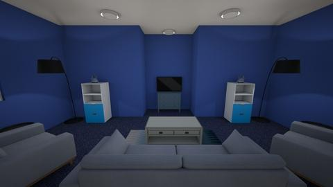 Blue Living Room - Living room  - by ccc5231c