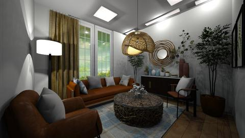 f - Living room  - by cau luong