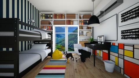 Boys Room - Bedroom  - by anamarija00