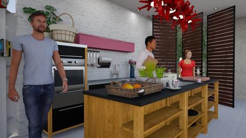 kitchen stud - Kitchen - by marmart8