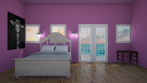 My ocean room  - Bedroom  - by AATHEDANCER