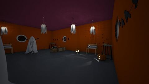 Halloween - by RainbowCupcakes