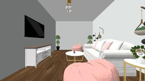 Fash_Int_Design Room 1 - Glamour - Living room  - by ariwright