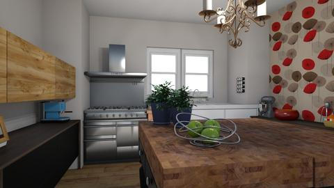 coc - Eclectic - Kitchen  - by fried