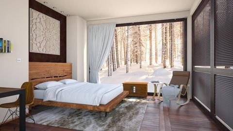 Winter cabin - Modern - Bedroom  - by dejovicm