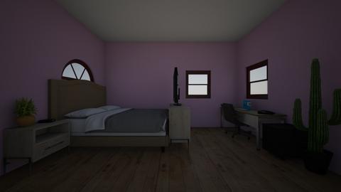 bedroom work area - Modern - Bedroom  - by skz1