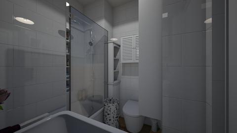 Lazienka 999 na Rejtana - Bathroom  - by exotae09