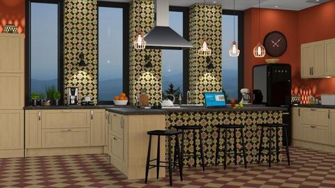 Bohemian Kitchen - Kitchen  - by GraceKathryn