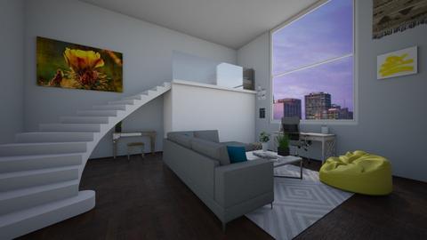 New York New York - Bedroom - by areejkwaik