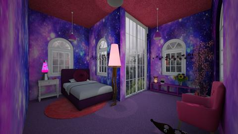 Pink and Purple Bedroom - Glamour - Bedroom  - by Han Jisung