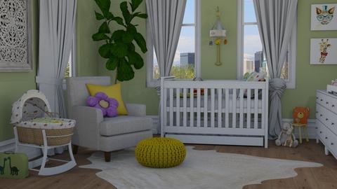Surprise baby - Kids room  - by Thrud45