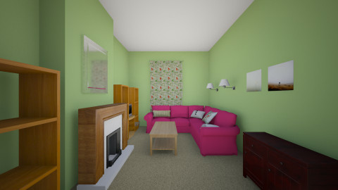 Dream lounge - Classic - Living room - by clare299