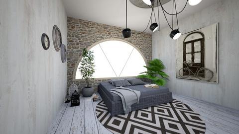 Bedroom Mural - Bedroom - by BUNA