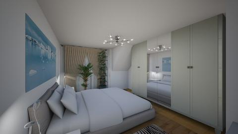 Bedroom_2 - Modern - Bedroom  - by Ollya2307