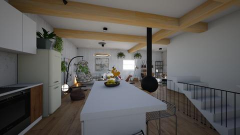 Living_ mansarda LOT58HC - Living room  - by angelarogoveanu2018