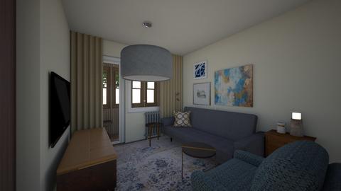 25July - Living room  - by Julia Nick