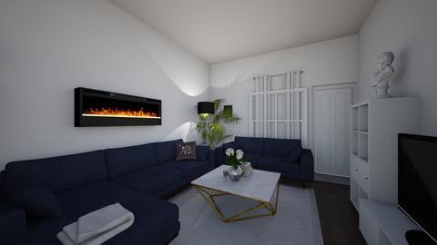blue_velvet - Living room - by cdarrach