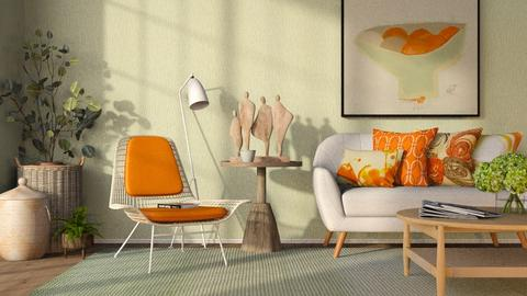 Settee - Living room  - by GraceKathryn