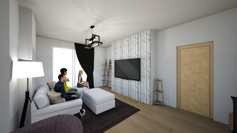 prova2 - Living room  - by micheledegelidi