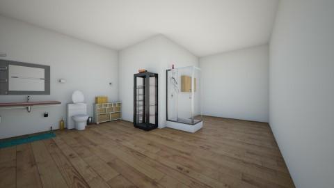 Bachelor Bathroom - Modern - Bathroom - by Elf_prettyballetgirl16