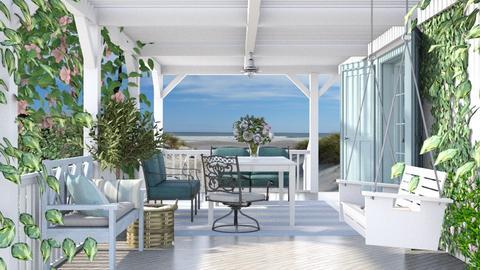 Porch - Garden  - by Lizzy0715