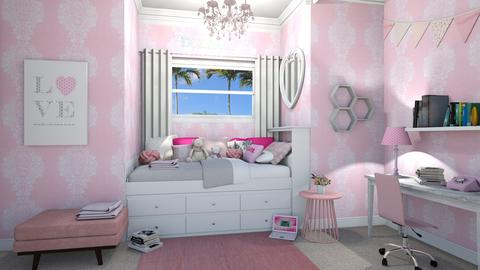 Tween Bedroom - Kids room  - by lovedsign