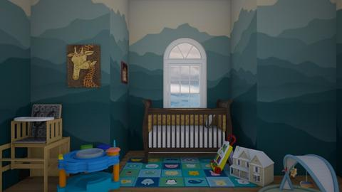 Aww cute baby nusery - Classic - Kids room  - by Itsavannah