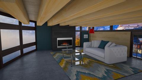 Vista Delle Montagne - Living room  - by Khayla Simpson