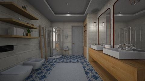 Bathroom 3x4 - Modern - Bathroom  - by tolo13lolo