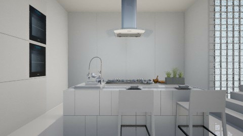 W Kitchen - Minimal - Kitchen  - by amandafern