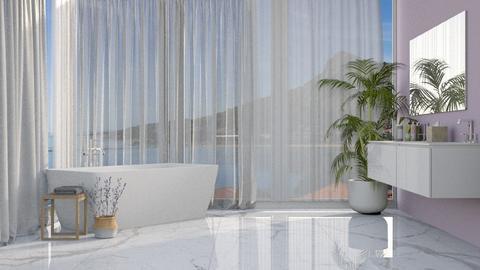 lavander - Bathroom  - by anjaam
