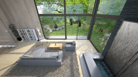Serenity Of Spring - Modern - Living room - by Mythrintia