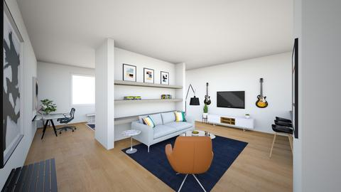 DWR Zach - Living room - by mikaelawilkins
