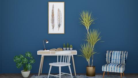 Bluey Blue - Office  - by Mint_2005
