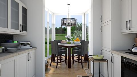 sunny kitchen - Modern - Kitchen  - by megalia42