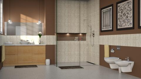 460 - Modern - Bathroom  - by Claudia Correia