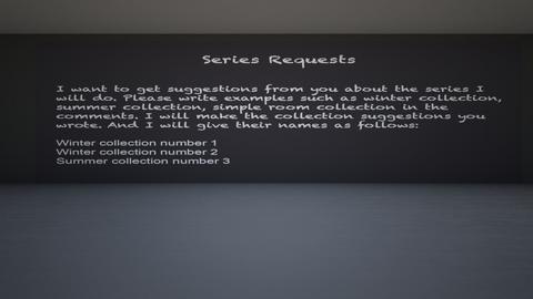 Series Requests - by Tanem Kutlu