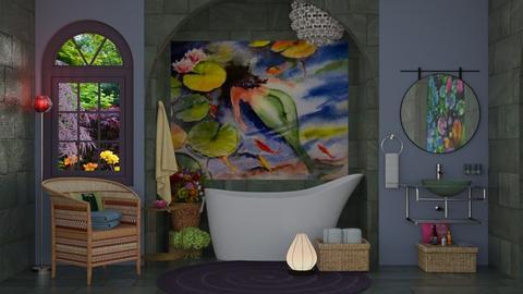 a mermaids view - by Teri Dawn