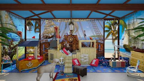 Design 65 Little Pirate - Kids room  - by Daisy320