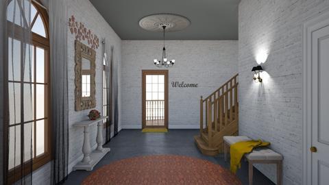 fall hallway - Classic - by rcrites457