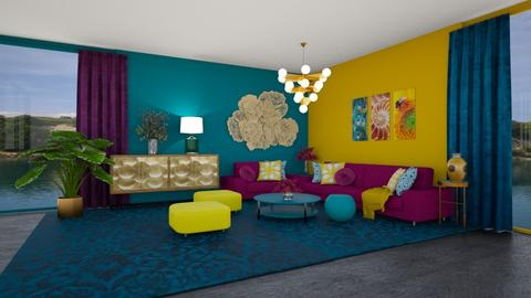 Living in India Colours - Living room  - by MyDesignIdeas