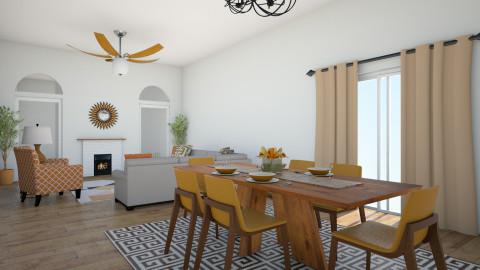 Modern floor - Living room - by jnd444
