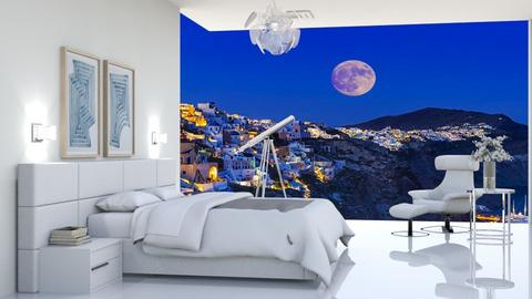 santorini - Bedroom  - by matina1976