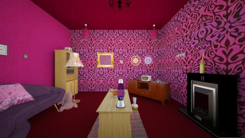 livingRoom - Vintage - Living room - by Alixandria Wolff