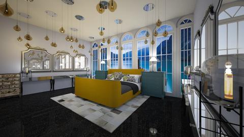 Modern Gold - Modern - Bedroom  - by deleted_1609868595_bleeding star