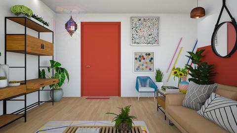 color - Living room  - by diegobbf