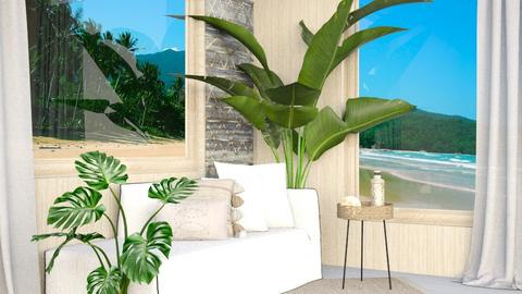 summer - Living room  - by iope