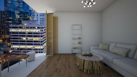 Apartment balcony room - Living room  - by NGU0008