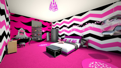 bedroom - Glamour - Bedroom  - by Hanifa Kalyegira_277